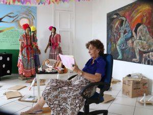 Compilado de publicações sobre Rita Queiroz na Internet