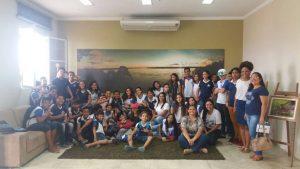 Alunos aprendem sobre a cultura rondoniense no Museu da Memória Rondoniense – 2017